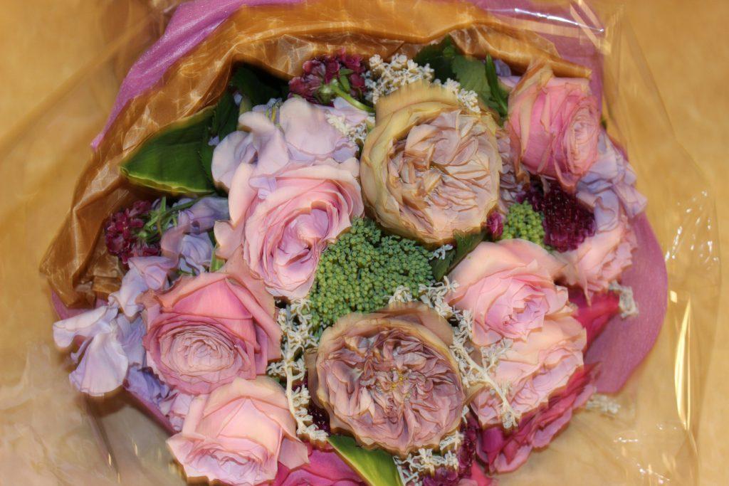 大人可愛い花束