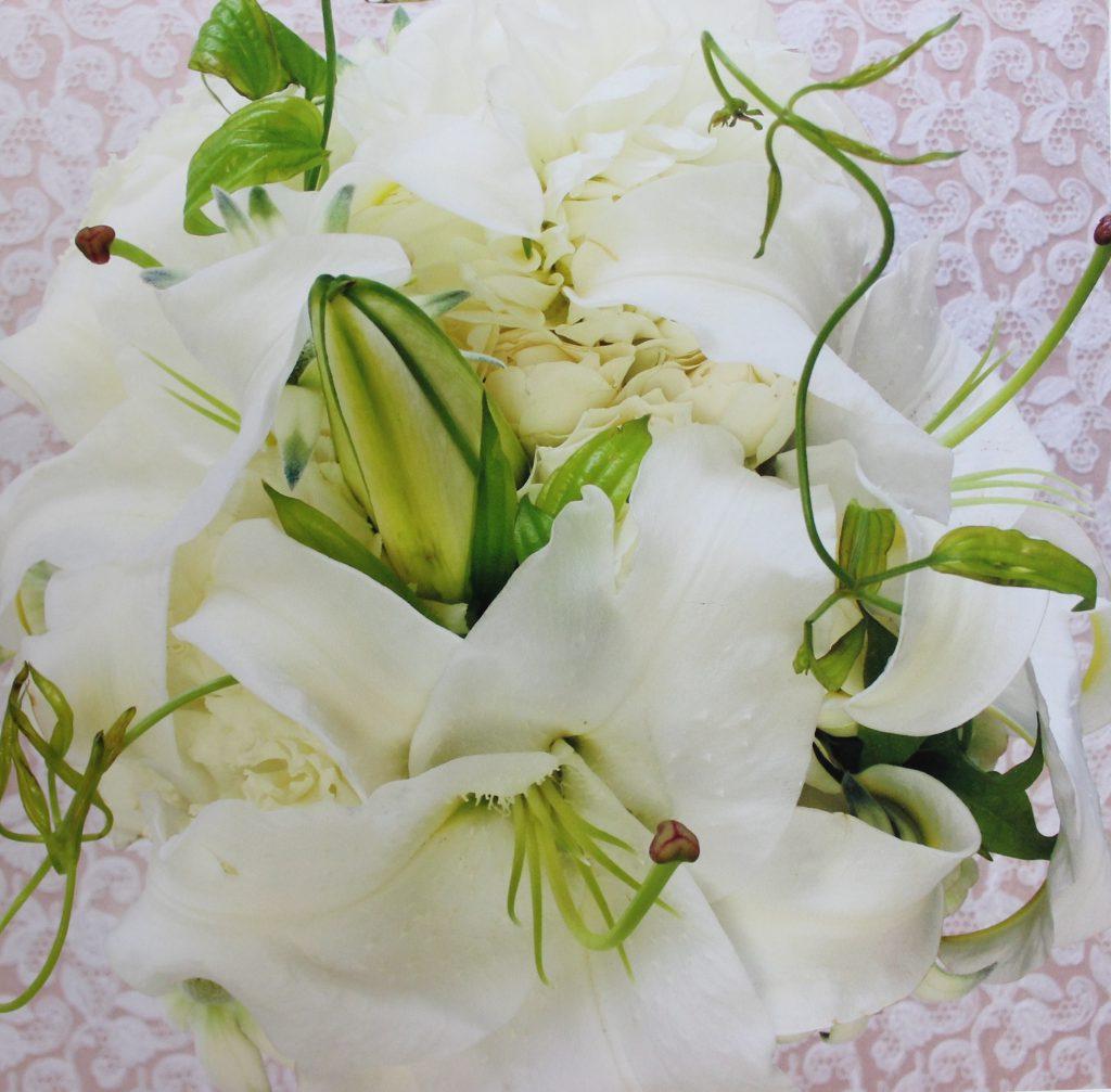 カサブランカ鳥取お送り頂いた花