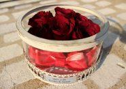 ガラスケーキコラム|108本の赤い薔薇は「永遠に」の意味|完成全体