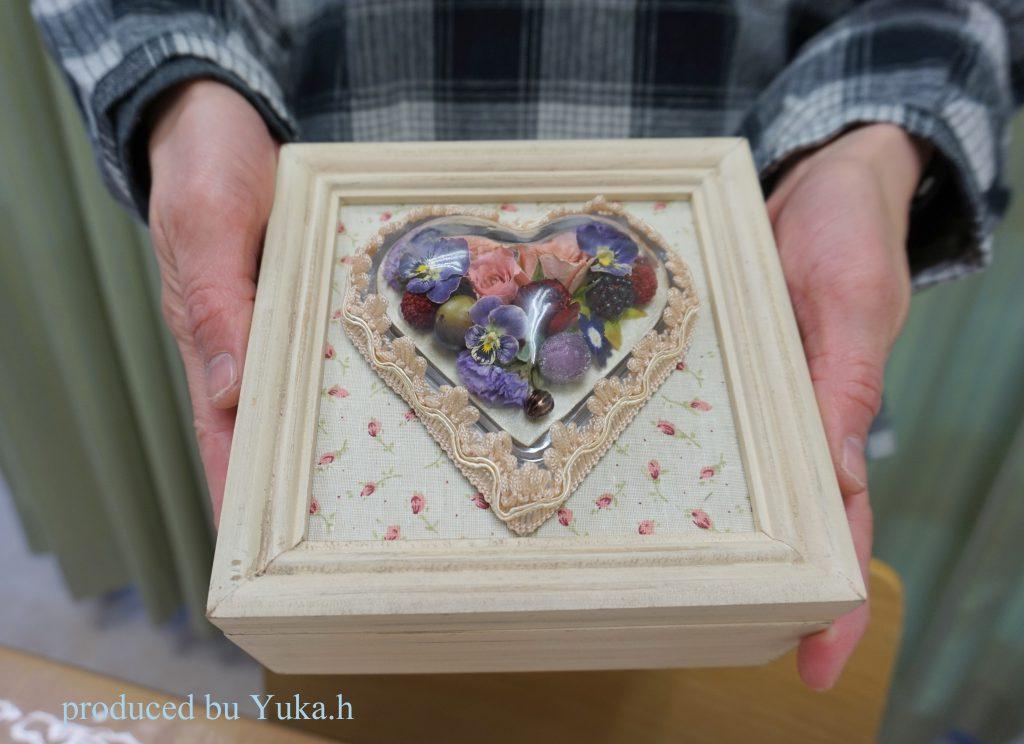 ハート宝石箱