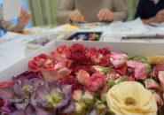 毎月イベントページ|レカンフラワー体験レッスン開催しました。|お花バイキング
