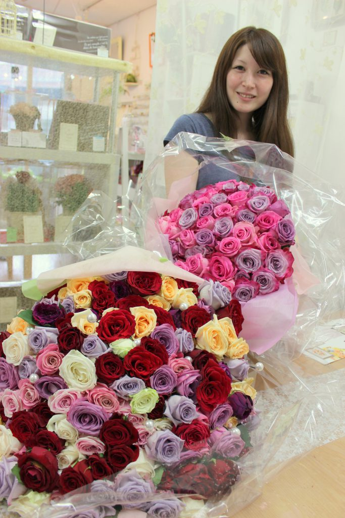 薔薇いっぱい