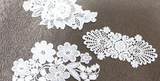 ブログ|美しい刺繡のレース★沢山揃っています|3種類