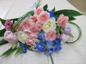 ピンクの花束