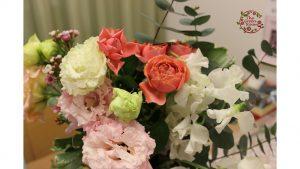 ブラウンフレーム Mサイズ|結婚式当日に感動~二度目のプロポーズの花束☆高級感あるブラウンフレームの中で永遠に|持ち込み時