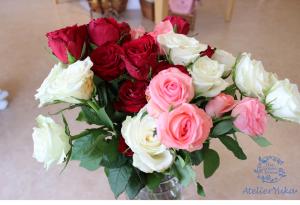 プロポーズはディズニーで♡夢のような思い出を永久保存|持ち込み時カラフル薔薇