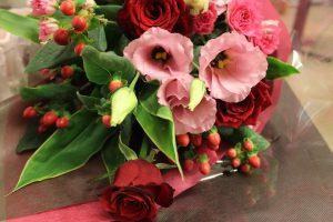 お義母様へ贈る発表会のお祝い|生花花束