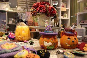 今年もハロウィンの季節がやってきました ハロウィンディスプレイ