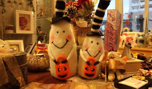 今年もハロウィンの季節がやってきました|お化けマスコット