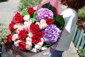 10000円生花花束1