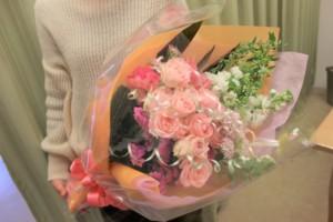 5000円生花花束1