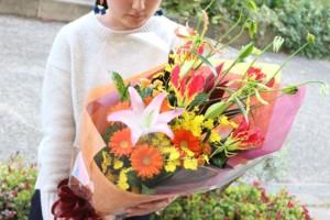 5000円生花花束4
