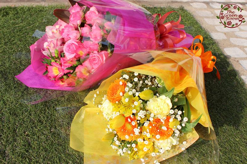 フラワーアレンジメント・花束の事例紹介|お世話になった方へ贈るお花 お客様の声|