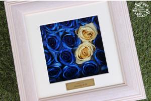 プロポーズのお花をそのまま保存加工 完成アップ